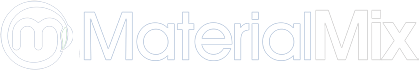 MaterialMix white logo