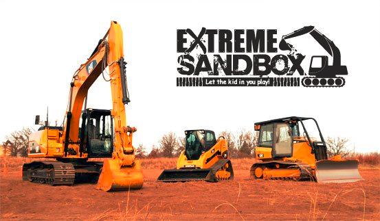 dad extreme sandbox