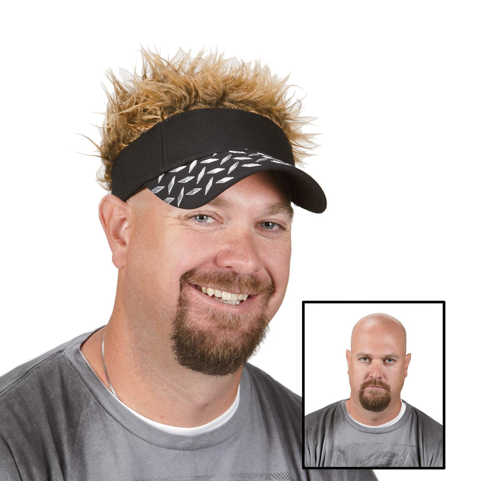 dad hair visor