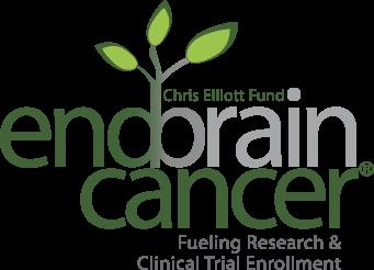 End Brain Cancer Initiative white logo