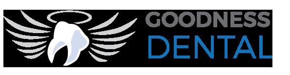 Goodness Dental white logo