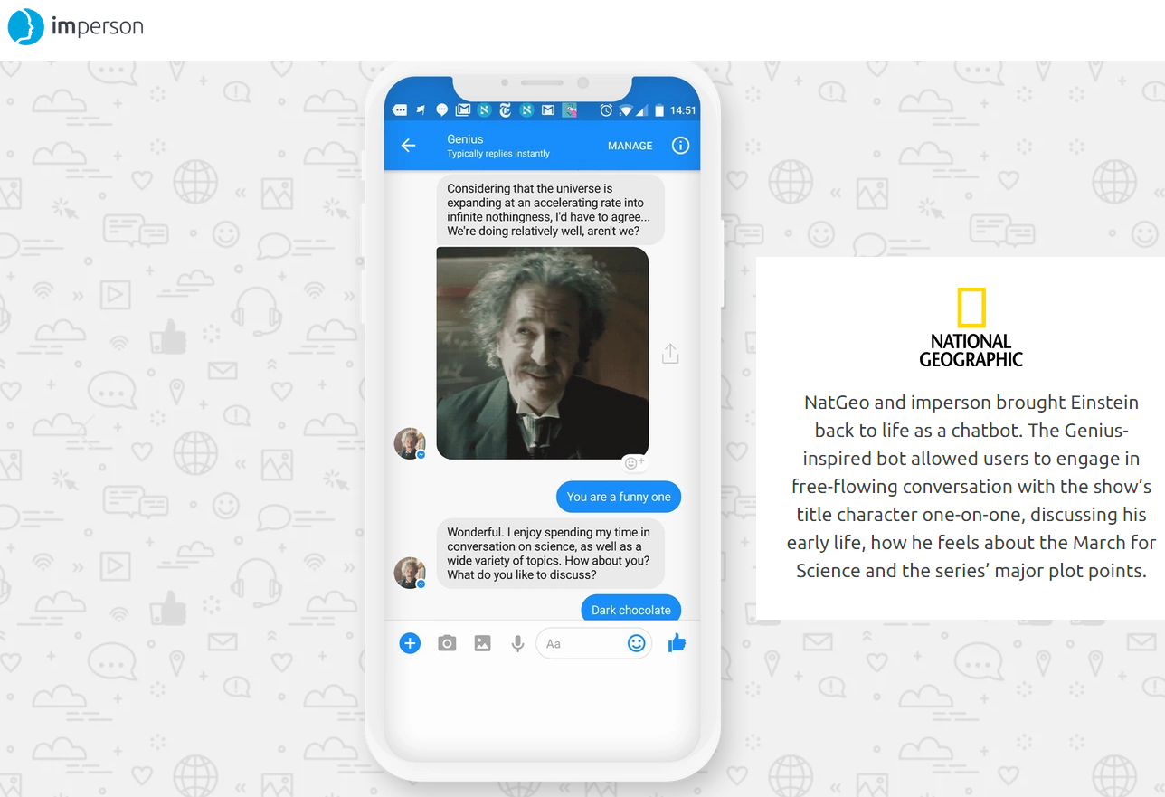 imperson chatbot