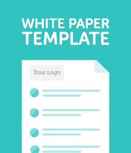 White Paper Template cover